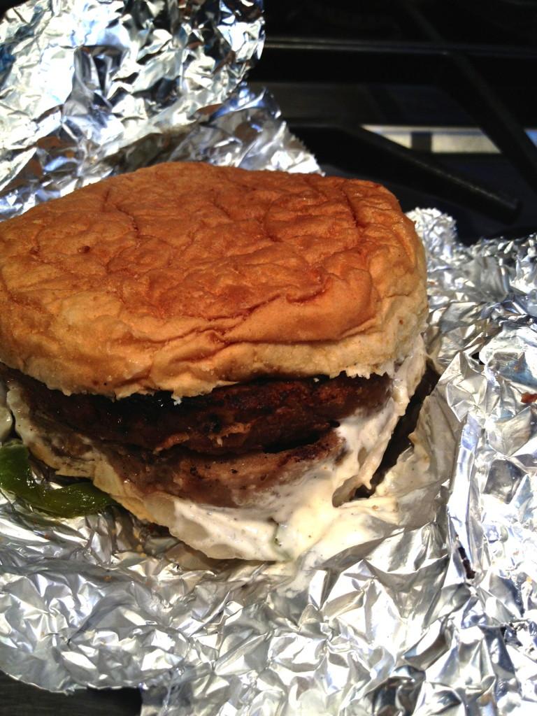 Persian Burger by Good Burgers (Vegetarian)
